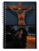 Crucifixion Spiral Notebook