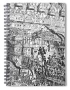 Cruikshank: London, 1851 Spiral Notebook