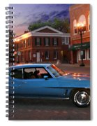 Cruise Night In Liberty Spiral Notebook