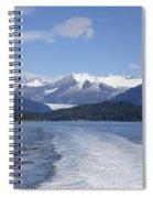 Cruise Ship Mountains Spiral Notebook