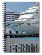 Cruise Ship Trio Spiral Notebook