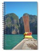 Cruising Maya Bay Spiral Notebook
