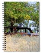 Cruising The  Weeds Spiral Notebook
