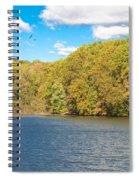 Crum Creek In Autumn Spiral Notebook