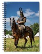 Saddled Up For Battle, Denmark Spiral Notebook