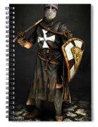 Crusader Warrior - 02 Spiral Notebook