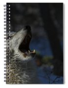 Cry In The Wild Spiral Notebook