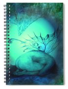 Crying Fairy Spiral Notebook