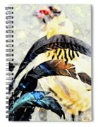 Crying Fowl Spiral Notebook