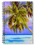 Crystal Blue Persuasion Spiral Notebook