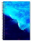 Crystal Blue Wave Painting Spiral Notebook