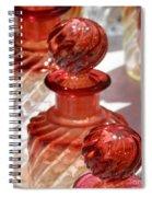 Crystal Bottles Spiral Notebook