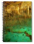 Crystal Cave Hamilton Parish Bermuda Spiral Notebook