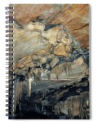 Crystal Cave Marble Spiral Notebook
