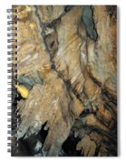 Crystal Cave Wall Formations Spiral Notebook