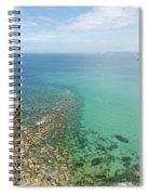 Crystal Clear Sea Spiral Notebook