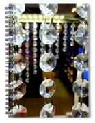 Crystal Curtain Spiral Notebook