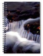 Crystal Falls Spiral Notebook