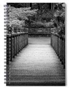 Crystal Garden Bridge Spiral Notebook