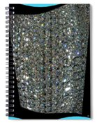 Crystal Ice Spiral Notebook