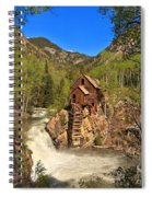 Crystal Mill Through The Trees Spiral Notebook