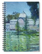 Crystal Palace Madrid Spain 2016 Spiral Notebook