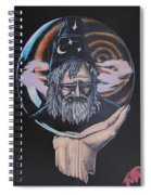 Crystal Wizard Spiral Notebook