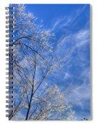 Crystalline Sky Spiral Notebook