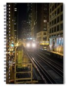 Cta Meet At The State-lake Street Station Chicago Illinois Spiral Notebook