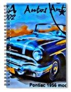 Cuba Antique Auto 1956 Catalina Spiral Notebook