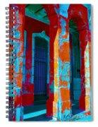 Cuba Architecture Spiral Notebook