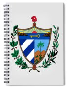 Cuba Coat Of Arms Spiral Notebook