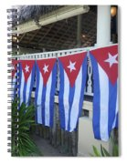 Cuban Flags Spiral Notebook