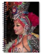 Cuban Tropicana Dancer Spiral Notebook