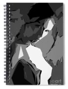 Cubism Series Xv Spiral Notebook