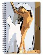 Cubism Series Xvi Spiral Notebook
