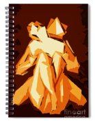 Cubism Series Xxii Spiral Notebook