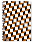 Cubism Squared Spiral Notebook