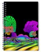 Cubistrain Spiral Notebook