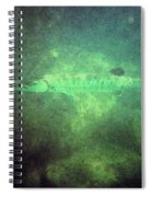 Cuda In The Water Spiral Notebook