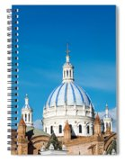 Cuenca Cathedral Domes Spiral Notebook
