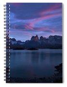 Cuernos Sunrise Part 1 - Chile Spiral Notebook