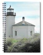 Coquille Lighthouse Spiral Notebook