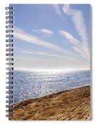Cullercoats Pier Spiral Notebook