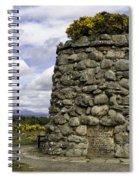 Culloden Battlefield Cairn Spiral Notebook