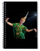 Cultural Thai Dance Spiral Notebook