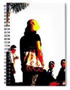Culture-in-motion Spiral Notebook
