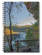 Cumberland Falls Ky From Eagle Falls Trail Spiral Notebook