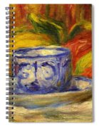 Cup And Fruit Spiral Notebook