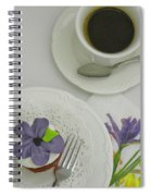 Cupcake And Coffee Spiral Notebook